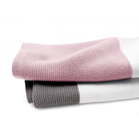 Manta Bugaboo de algodón rosa pastel