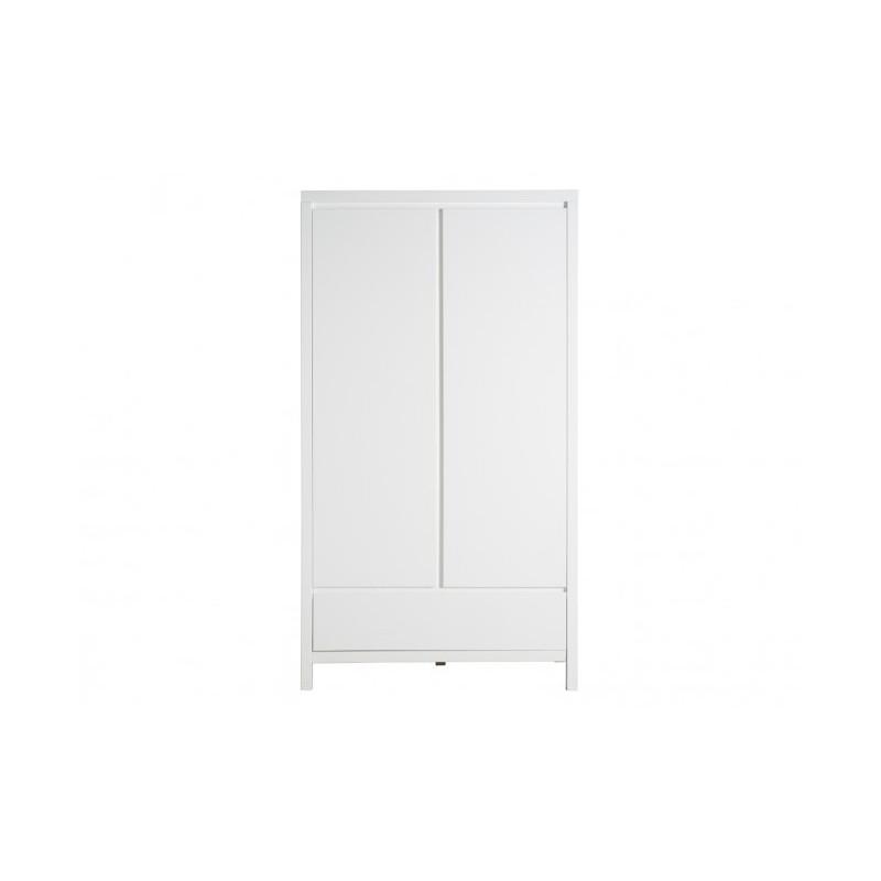 Armario dos puertas con caj n colecci n corsica de bopita for Camas 110x200