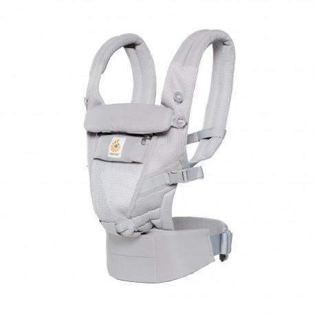 Mochila portabebés Adapt 3 posiciones Cool Air gris de Ergobaby