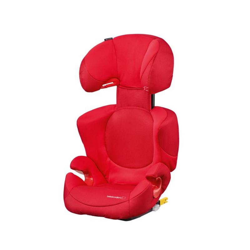 Silla de auto rodi xp fix b b confort grupo 2 3 poppy red for Bebe en silla de auto