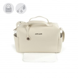 Bolso Maternal Biscuit Beige Pasito a Pasito