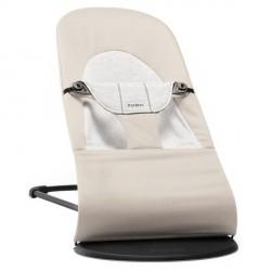 Hamaca Balance Soft Cotton/Jersey Beige/Gris BabyBjörn
