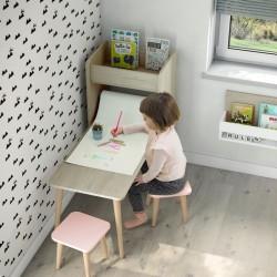 Mesa Infantil con Estantería Arco Iris de Ros