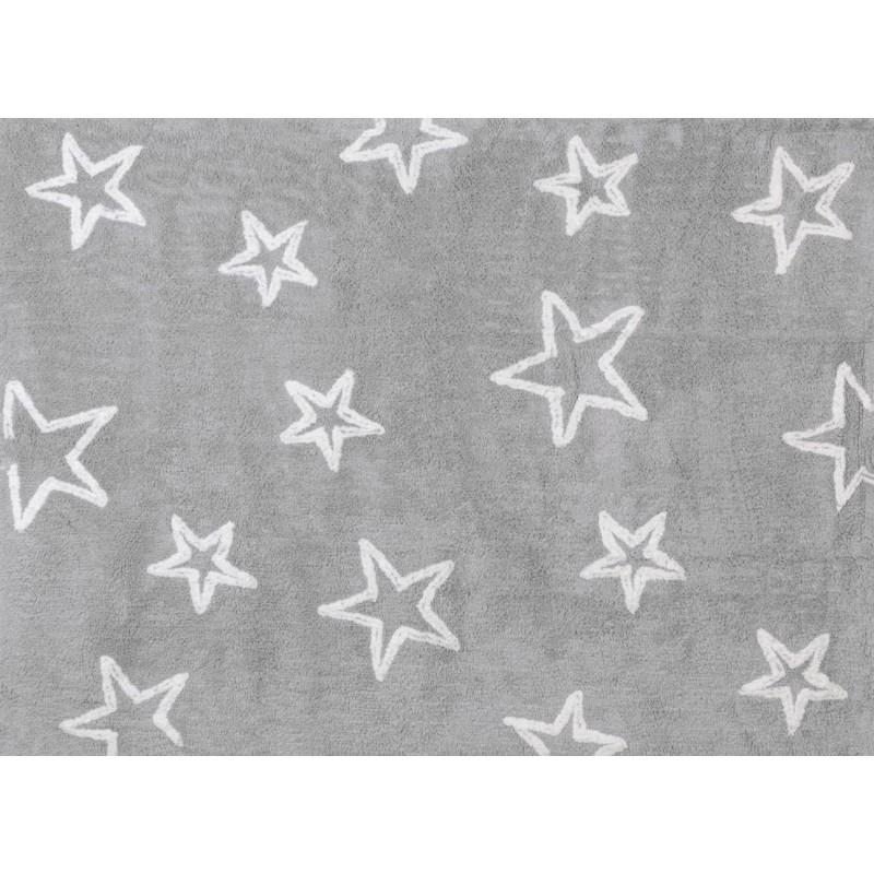 Alfombra estrella aratextil 120x160 gris for Alfombra 120x160