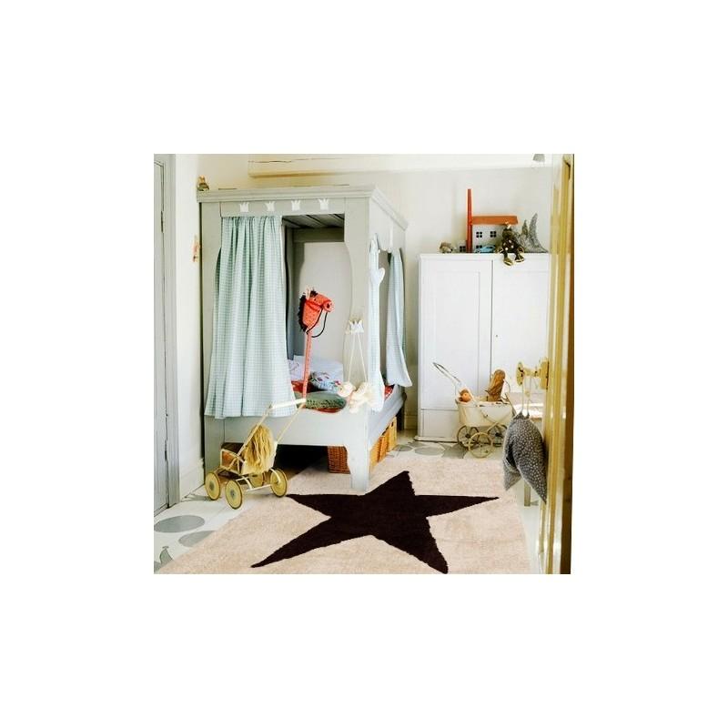 Alfombra estela aratextil 120x160 beige marr n beb polis - Lavadora fondo reducido ...