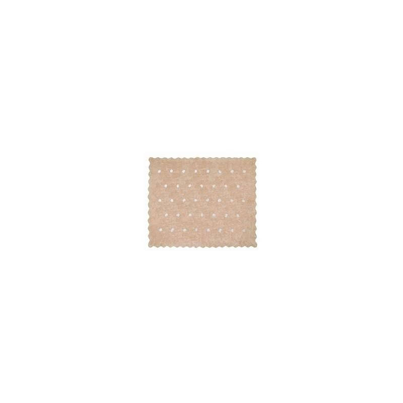 Alfombra topitos aratextil 120x160 beige beb polis for Alfombra 120x160