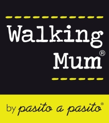 logo walking mum
