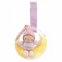 Luces musicales goodnight moon first dreams rosa de Chicco