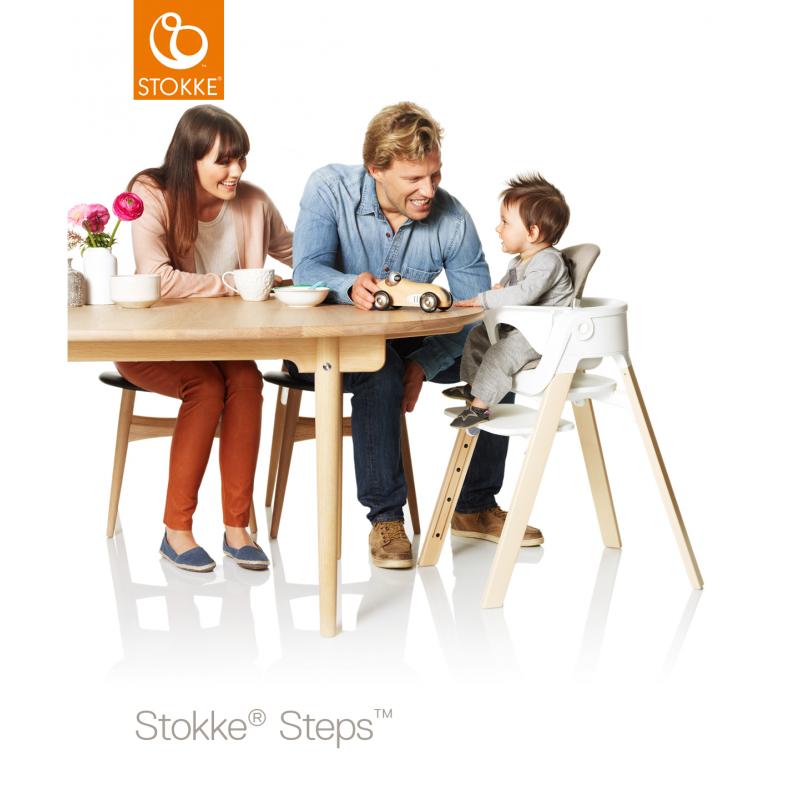 baby set stokke steps blanco. Black Bedroom Furniture Sets. Home Design Ideas