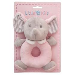 Dou dou elefantito rosa de Creaciones LLopis