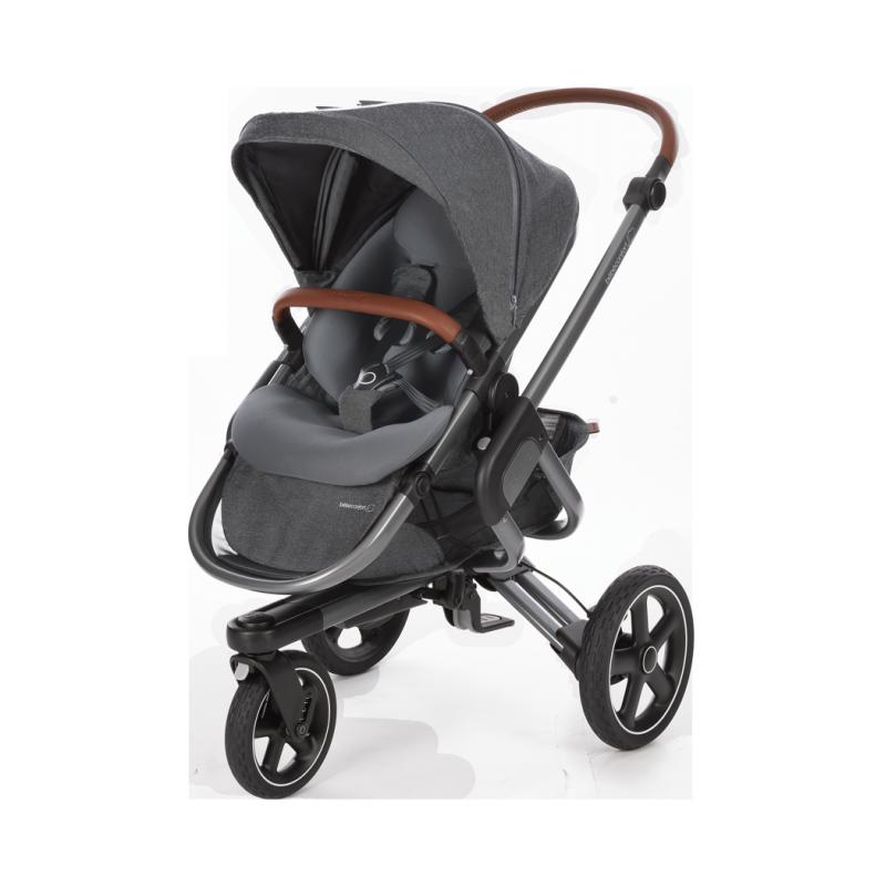 Silla de paseo nova 3 ruedas sparkling grey de beb confort - Silla de paseo 3 ruedas ...
