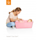 Bañera plegable Stokke® Flexi Bath® Transparente Rosa