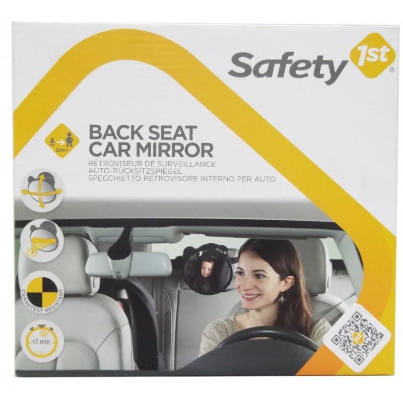 Espejo asiento trasero del coche de safety for Espejo para mirar bebe auto