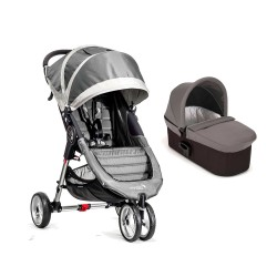 Duo City Mini 3 gris de Baby Jogger