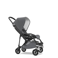 Bugaboo bee 5 Classic Gris Mélange Chasis Negro