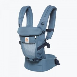 Mochila portabebés Adapt 3 posiciones Cool Air oxford blue de Ergobaby