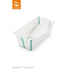 Pack Bañera plegable Stokke® Flexi Bath® Blanco Aqua