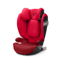 Silla de auto Solution S-Fix Grupo 2-3 Rebel Red de Cybex
