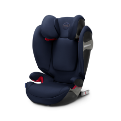 Silla de auto Solution S-Fix Grupo 2-3 Denim Blue de Cybex
