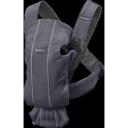 Mochila portabebés Mini 3d mesh antracita de BabyBjörn