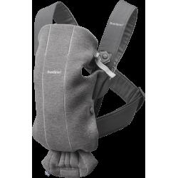 Mochila portabebés Mini 3d jersey gris oscuro de BabyBjörn