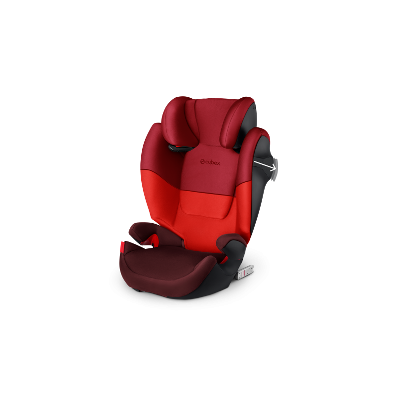 0c3047ca9d1 Silla de auto Solution M-Fix Grupo 2-3 Rumba Red de Cybex