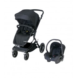 Cochecito Kokoon 2 en 1 Full Black de Safety First