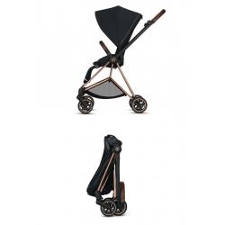 Duo Mios con Capazo Lux Premium Black de Cybex