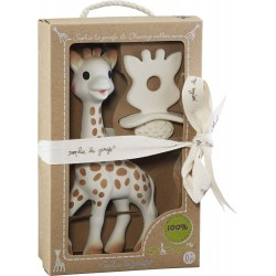 Set Juguete Sophie la Girafe + Chupete Hevea 100% Natural