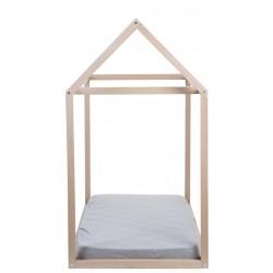 Estructura Casita con somier  90x200 cm Natural de Childhome