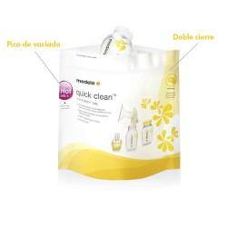 Bolsas Esterilizadoras para Microondas Quick Clean de Medela