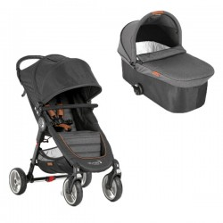 Duo City Mini 4 denim de Baby Jogger