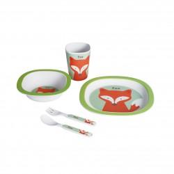 Set Vajilla 5 Piezas Fox de Walking Mum