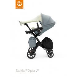 Silla de Paseo Stokke Xplory V6 Grey Mélange Chasis Plateado