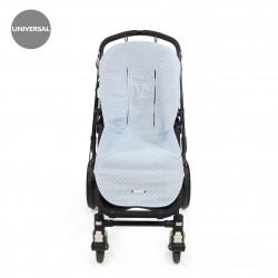 Funda silla verano universal Triana Azul de Pasito a Pasito