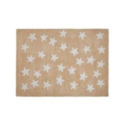 Alfombra Nude Messy Stars White de Lorena Canals 120x160
