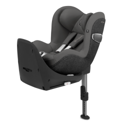 Silla de auto Sirona S  I-Size Grupo 0+/1 Premium black de Cybex