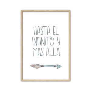 """Cuadro""""Hasta el infinito""""..."""