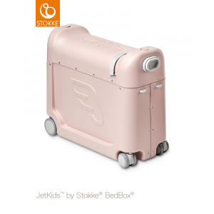 Stokke Maleta y cama BedBox limonada rosa 534503