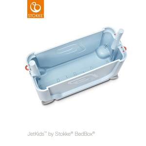 Stokke Maleta y cama BedBox azul cielo 534501