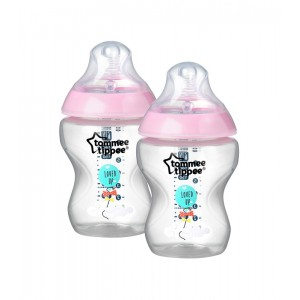 Tommee Tippee Pack 2 unidades Biberón Closer to Nature 260 ml
