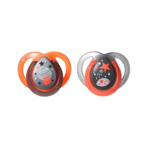Tommee Tippee Chupete Noche 0-6m 2 Unidades