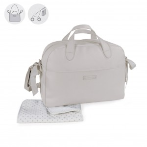 Pasito a Pasito Bolso Maternal Essentials gris 74887