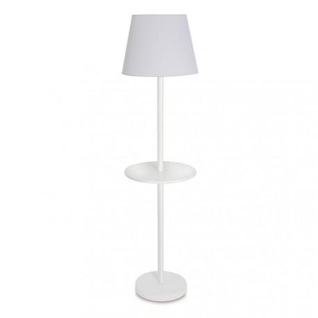 Lámpara de Pie con bandeja blanca Bebépolis