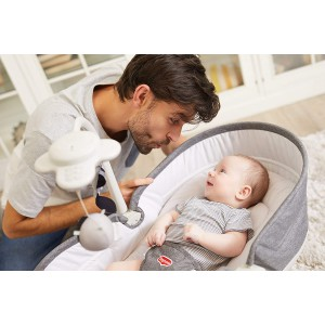 Tiny Love Hamaca bebé Rocker Napper grey 2222180411