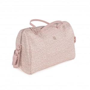 Pasito a Pasito Bolso Maternal Flower Mellow rosa 74937