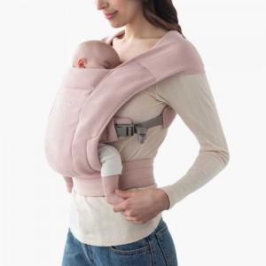Mochila portabebés Embrace  rosa pálido EBCEMAPNK