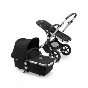 Bugaboo Cameleon 3 Plus - Capota negra, fundas negras, chasis aluminio 230159ZW01