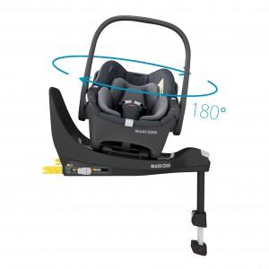 Maxi-Cosi Silla Coche Grupo 0+ Pebble 360º essential graphite 8044750110