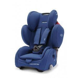 Recaro Silla de coche Grupo 1-2-3 Young Sport Hero Energy Blue
